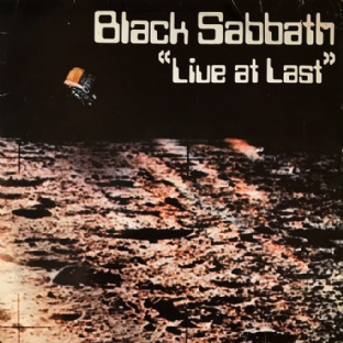 Black Sabbath ‎- Live At Last (LP) (G+/G)